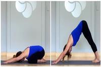 女生瘦腿方法,练好这四组瑜伽动作不怕露腿