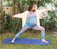 孕妇也可以做瑜伽吗,超模米兰达?可儿告诉你