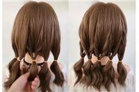 花式编发图解,让女生的发量一下子变多,中长发必会款式