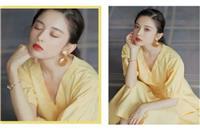美妆达人娜扎的彩色眼妆清爽迷人,简单化妆步骤教你学会