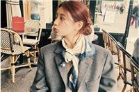 秀智低丸子头怎么扎才好看〖秀智〗甜美发型文艺游巴黎