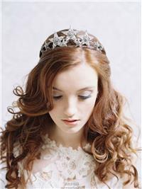 Erica Elizabeth 2014新娘头饰造型