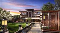 拥有中国风格的园林设计的豪宅 皇家公主待遇