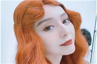 """范冰冰妩媚红发造型拍《嘉人》复出,卷发海妖妆神似""""湄拉"""""""