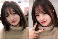 长脸女生适合什么发型,刘海缩短脸型拍照最好看的发型