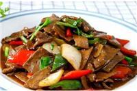 猪肝怎么炒好吃不腥味,家常猪肝的四种炒菜方法
