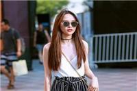 女人想要优雅时髦怎么穿搭 韩国街拍达人艳压国内网红