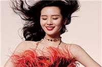 刘诗诗流光溢彩大片魅惑十足  2020告别素雅形象解锁港风美人新造型