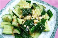 凉拌黄瓜的做法 多吃黄瓜对人体有哪些好处
